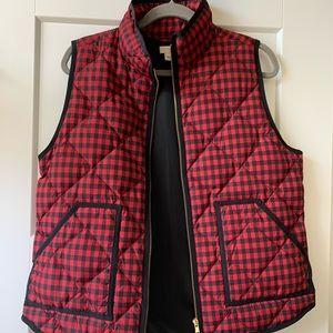 JCrew red vest